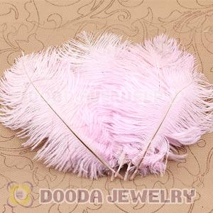Pink Plumes Big Flake Ostrich Feather Hair Extensions Wholesale
