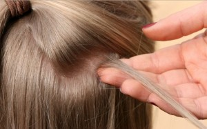 feather extension for hair