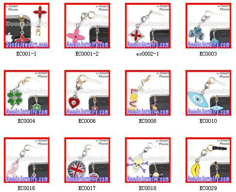 cute Earphone Jack Charm