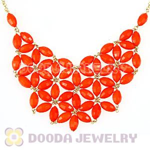 Crew Bubble Bib Statement necklace