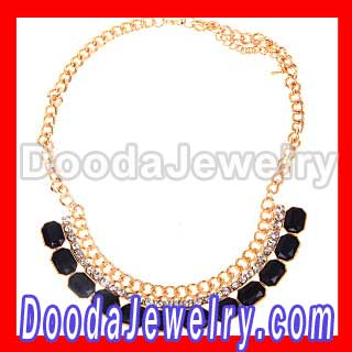 2012 gold plated Chunky Choker Collar Necklaces for women