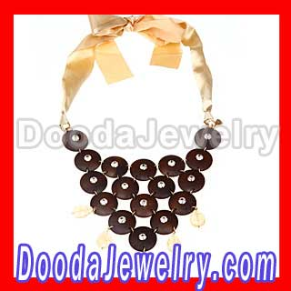 Ribbon Stella & Dot  Casablanca Bib Necklace